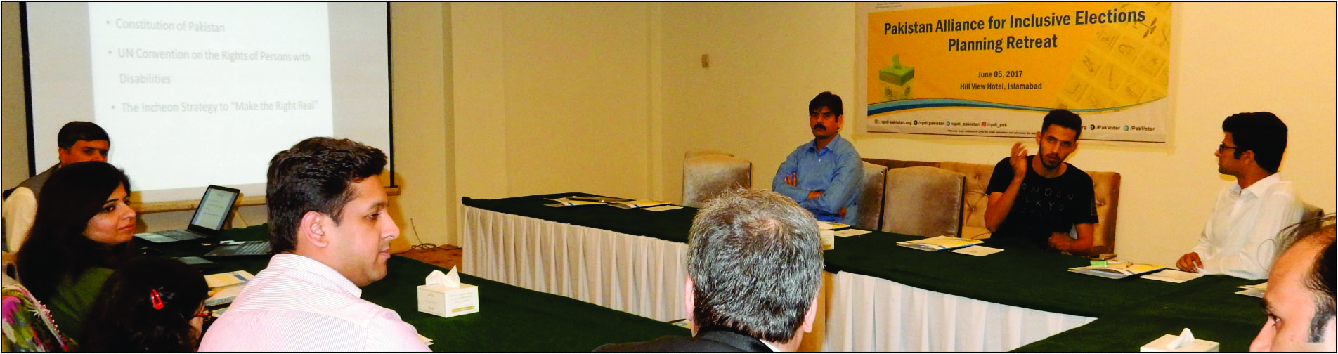 Pakistan Alliance for Inclusive Elections – Planning Retreat