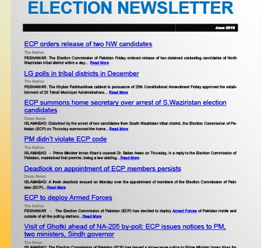 Election Watch Newsletter – Issue No 9
