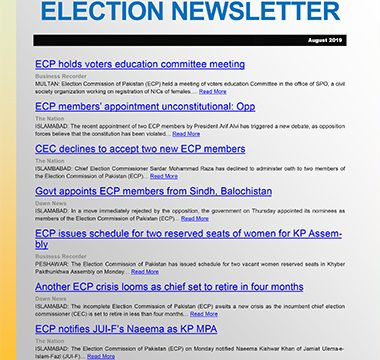 Election Watch Newsletter – Issue No 11